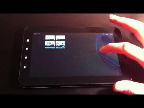 Galaxy Tab running Honeycomb (Android 3.0)