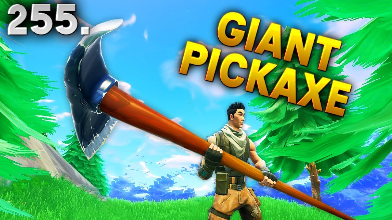 Giant Pickaxe Bug Fortnite Daily Best Moments Ep  Fortnite Battle Royale Funny Moments