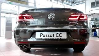 2012 VW Passat CC Exterior & Interior 2.0 TDI BlueMotion 140 Hp 211 Km/h * see also Playlist