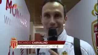 Funny sequence between Ricardo Carvalho and Claudio Ranieri