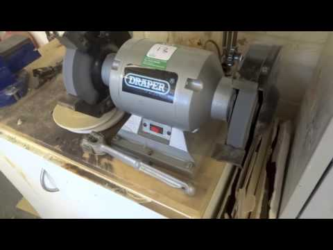 Draper GHD200 240v Bench Tool and Cutter Grinder