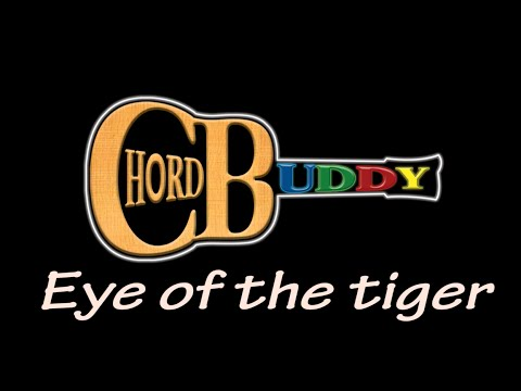 eye of the tiger with chordbuddy youtube. Black Bedroom Furniture Sets. Home Design Ideas