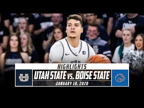 Utah State Vs. Boise State Basketball Highlights (2019-20) | Stadium