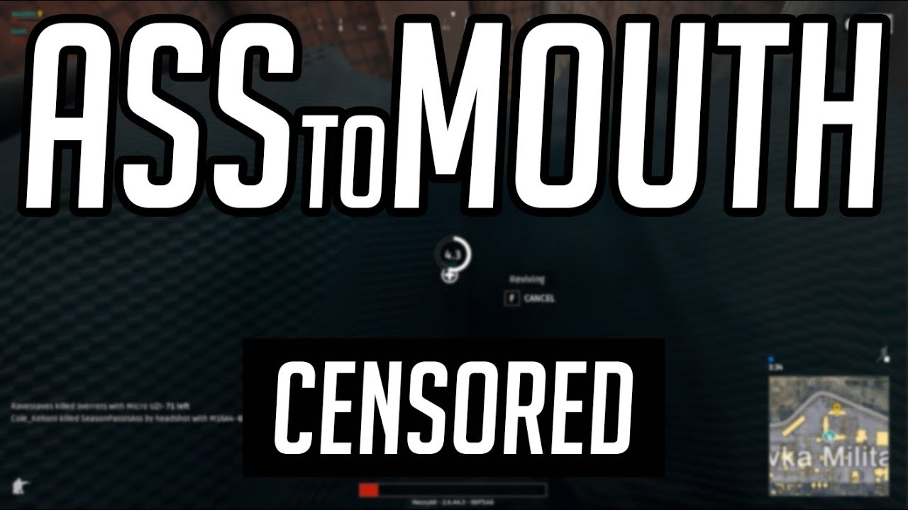 accidental ass to mouth // pubg gameplay highlight - youtube