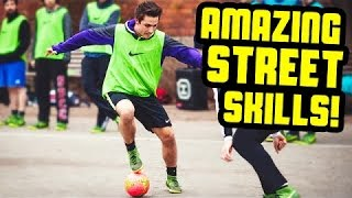 incredible[the most amazing] street soccer skills