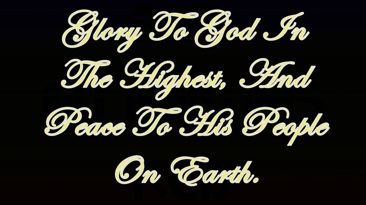 Gloria (Catholic Hymn) -Lyrics-