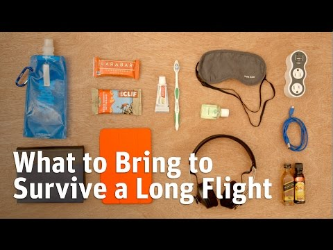 What to Pack to Survive a Long Plane Flight