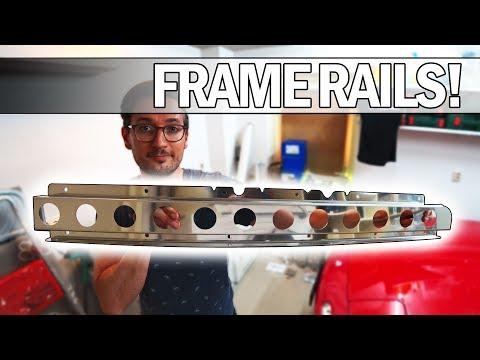 MX5 NA Miata - How to install Jass Performance frame rails