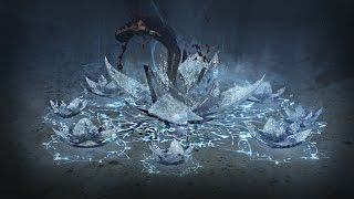 Path of Exile - Frostflower Ice Trap Skill Effect