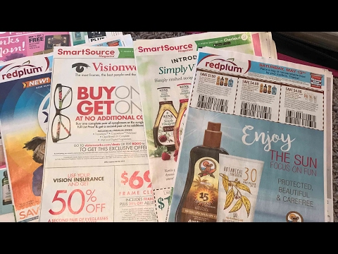What's In My Inserts 5/7/17 ~ Really Good Coupons