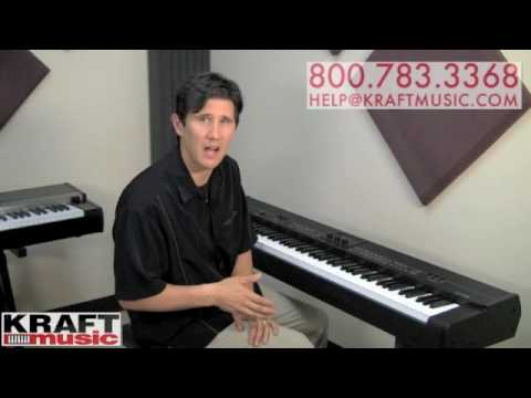 Kraft music yamaha cp50 stage piano demo with tony for Certified yamaha outboard service near me