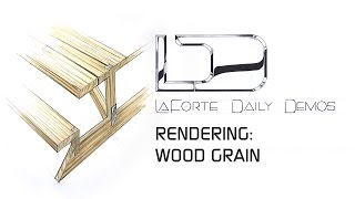 Wood Grain - Picnic Table Detail