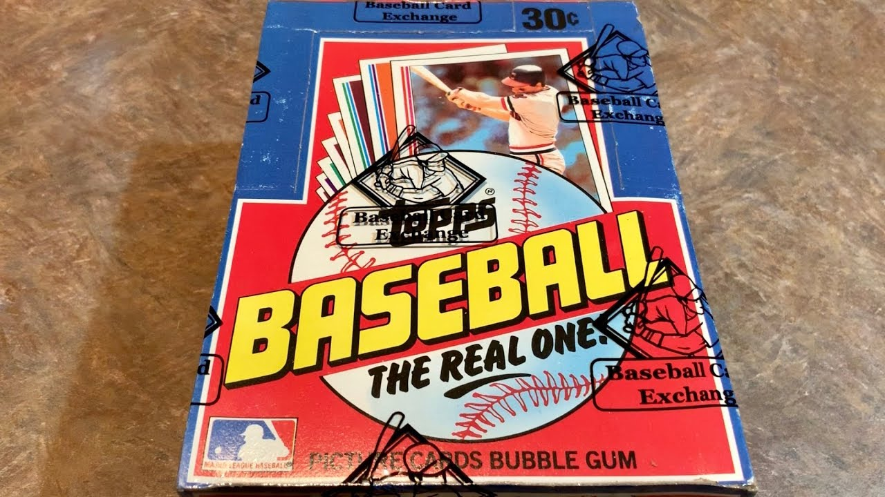 1982 Topps Baseball Box Break And The Search For Cal Ripken Jr Rookie Cards Throwback Thursday