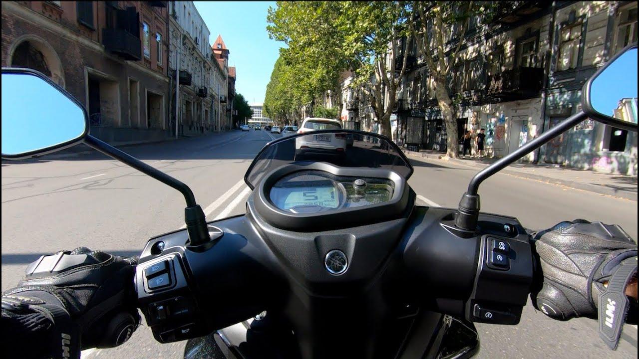 ქალაქის ციყვი: Yamaha Ray ZR