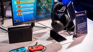 ASUS ROG Strix Go 2.4 - Gaming-Headset mit USB Typ-C für Nintendo Switch und Co.