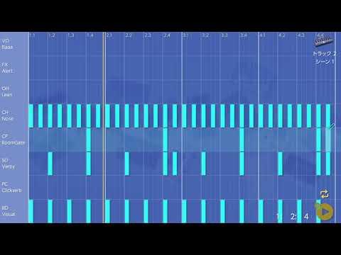 画像2: 13 ドラムにバリエーションを加える バレッドプレス KORG Gadget for Nintendo Switch講座 www.youtube.com