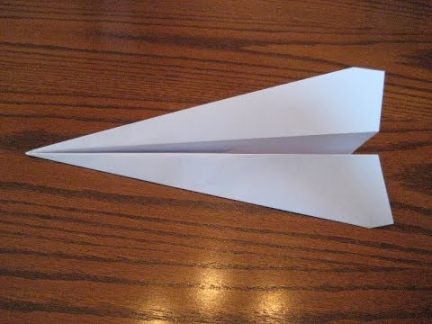 How To Fold A Paper Airplane That Flies Far Full HD