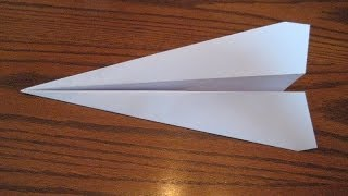 How To Fold A Paper Airplane That Flies Far. (Full HD)