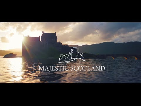 MAJESTIC SCOTLAND - A tour of the Scottish Highlands by Drone ( DJI Inspire 2 , Mavic, Phantom 4)