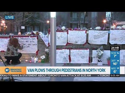 Memorial grows at Yonge and Finch following van attack