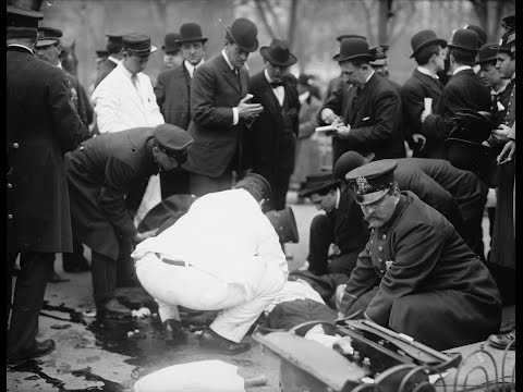 Aftermath of a Deadly Anarchist Bombing in Union Square, New York City (1908)