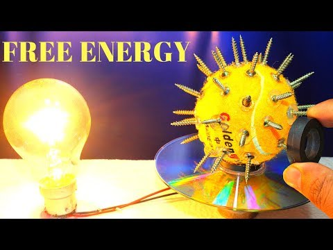 Free Energy Device With Magnet 100% Free Energy - 100% Free Energy Science Experiments