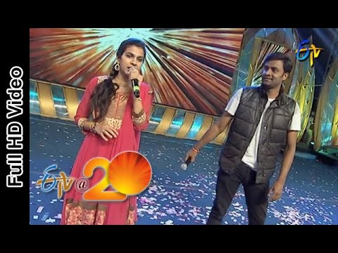Hema Chandra Sravana Bhargavi Performs - Super Machi Song in Vijayanagaram ETV @ 20 Celebrations