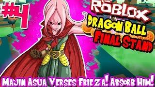 MAJIN ASUA VERES FRIEZA! ABSORB HIM! | Roblox: Dragon Ball Final Stand (Majin) - Episode 4