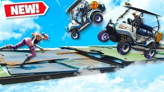 CART VS RUNNERS! *NEW* MODE in FORTNITE Battle Royale! Playground Mode V2