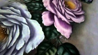Pintando rosas parte 3