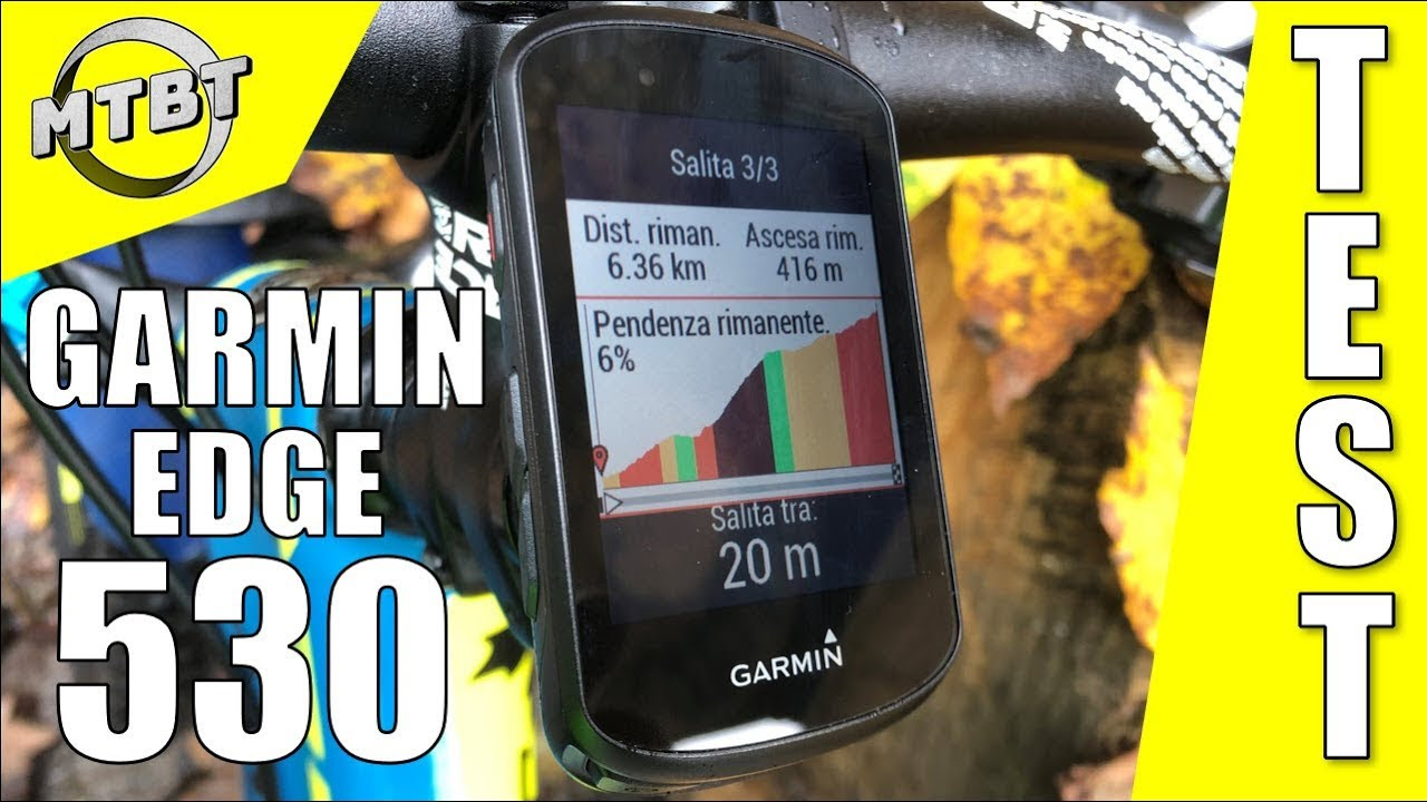 foto de Garmin Edge 530 Mountain Bike GPS Test | MTBT - YouTube