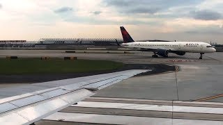 Amazing Sound! - Delta MD-90 Departure from Atlanta (KATL) *HD Wingview with ATC!*