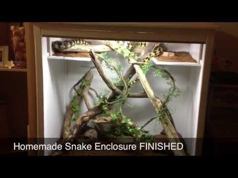 DIY Snake Enclosure FINISHED