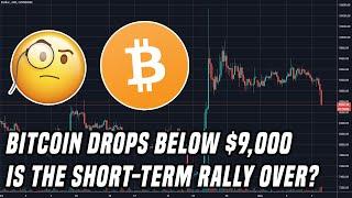 Bitcoin Breaks Below $9,000 | Gold & Silver Follow