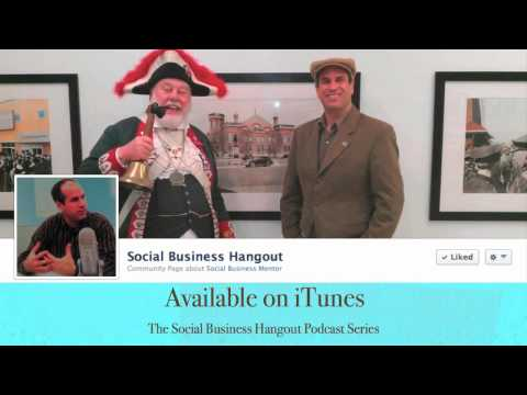 David McKee, Brantford Town Crier - The Social Business Hangout Interview Series