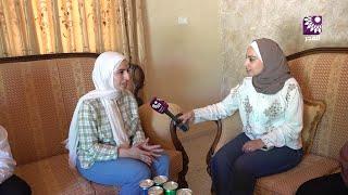 لقاء الطالبة ديما غسان سنجق 99.6 الفرع العلمي – بلدة رامين
