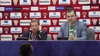 Пресс конференция Юрия Сёмина