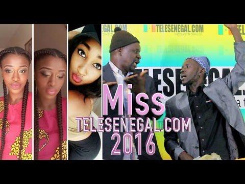 Miss Telesenegal 2016 dans Allo12 avec Pa Nice et Wadioubakh - Tele Senegal