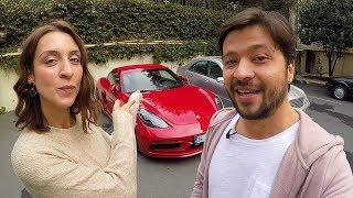 Porsche 718 Cayman böbrek taşı düşürür mü? - Vlog#53