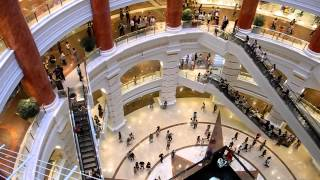 Shanghai's Largest and Most Oppulant Shopping Mall: Global Harbor
