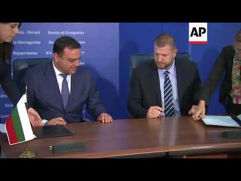 Bulgarian PM meets Bosnia's top leaders