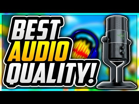 HOW TO MAKE YOUR MIC SOUND PROFESSIONAL IN AUDACITY 2018! BEST AUDACITY SETTINGS 2018! (EASY)
