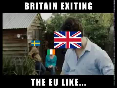 Britain Leaving the EU in a Nutshell