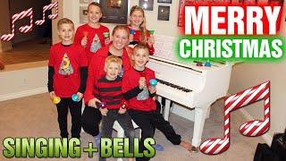 Jingle Bells Remix - Handbells, Piano u0026 Singing - Family Fun Pack Christmas Song