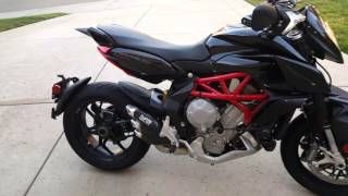 MV agusta rivale 800 fm projects exhaust