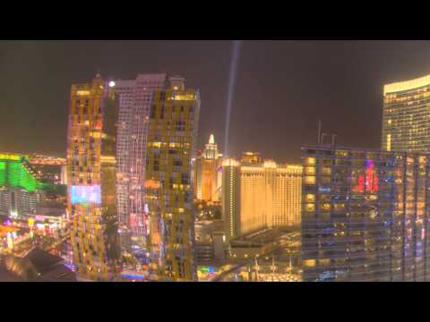 The Cosmopolitan and Green Valley Ranch - Las Vegas Timelapse Video