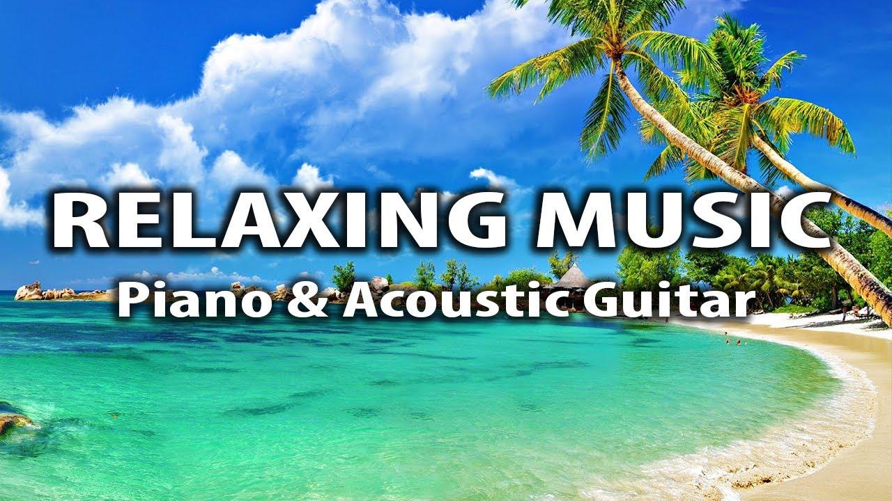 Relaxing Music - Piano & Acoustic Guitar. Sea. Music for Sleep, Yoga, Meditation, Study, Focus Music
