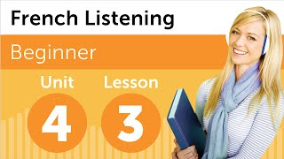 French Listening Comprehension - Renting a DVD in France
