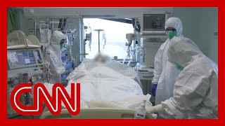 This country's Covid-19 death rate is world's highest. CNN goes inside one of its ICUs
