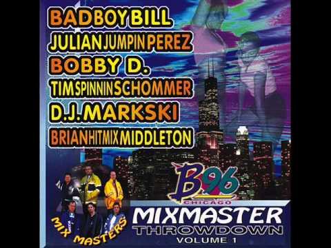 B96 Mixmaster Throwdown Volume 1